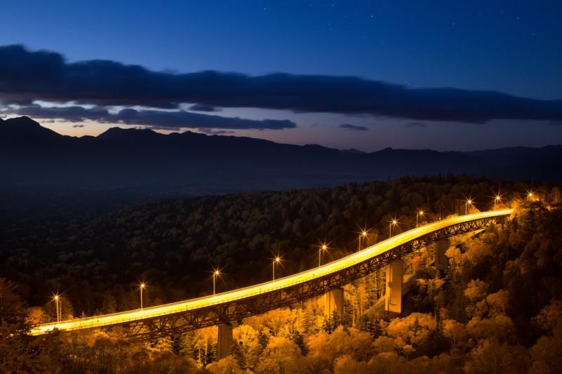 三国峠夜明け前
