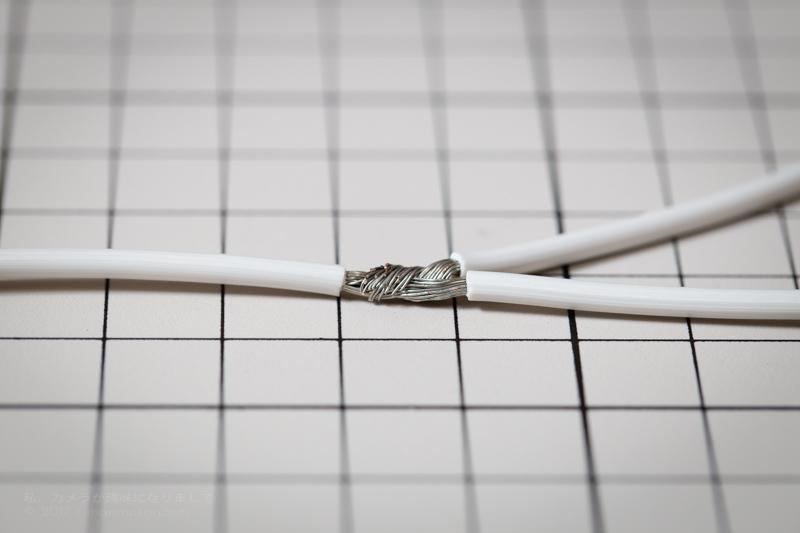 分岐ケーブル結線